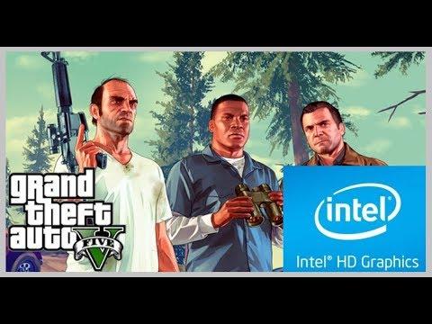Grand Theft Auto V on Intel HD/Intel Celeron N3060
