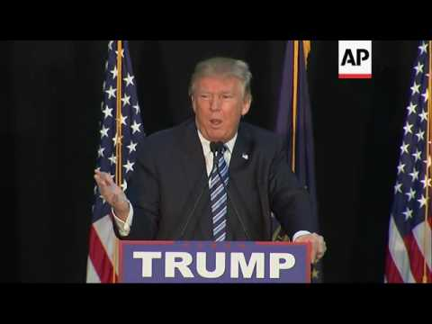 Trump: Border Wall Will Help NH Drug Problems
