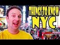 NYC Travel Tips 10 Things To Know Before You Go To New York City
