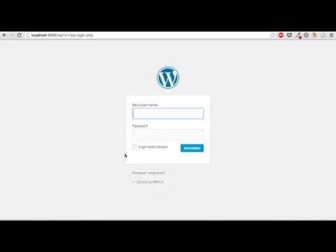 WordPress lokal installieren mit Mamp