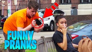 """Ultimate """"Chair Pulling"""" Prank Compilation - Funniest Public Pranks 2020"""