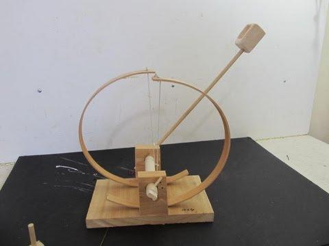 Make a DaVinci Catapult