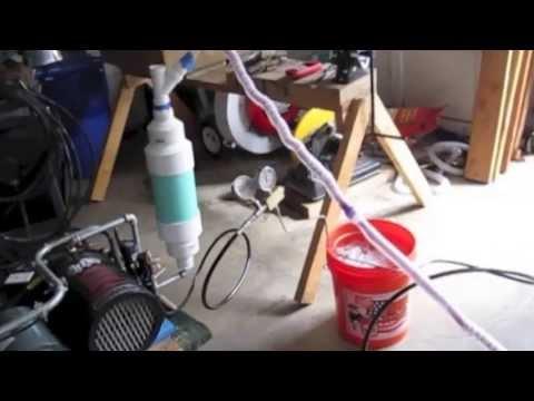 Homemade Liquid Nitrogen Generator using  Regenerative Cooling
