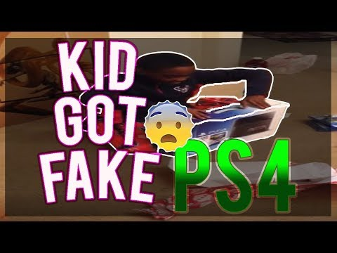 kid gets a fake PS4 for his Birthday! MUST WATCH!!!