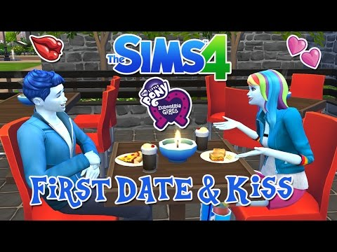 The Sims 4: My Little Pony ~ High School (Part 25) First Date & Kiss