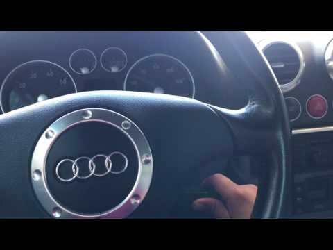 Audi TT Window Reset Procedure (after reconnecting battery)