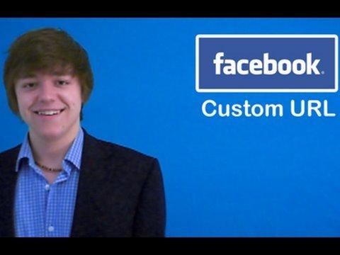 Facebook Custom URL Website Addresses
