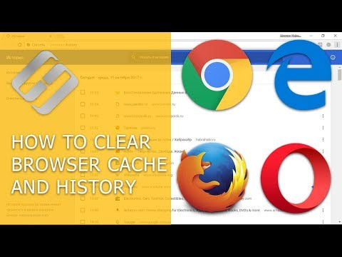 How to Clear Browsing History and Cache in Chrome, Yandex, Opera, Firefox, Edge 📝🔥🌐