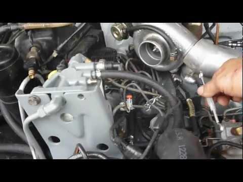 Diesel pump timing