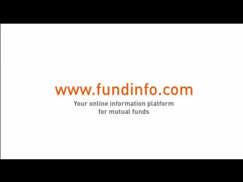 fundinfo.com tutorial - your comprehensive source for information about investment Funds and ETFs