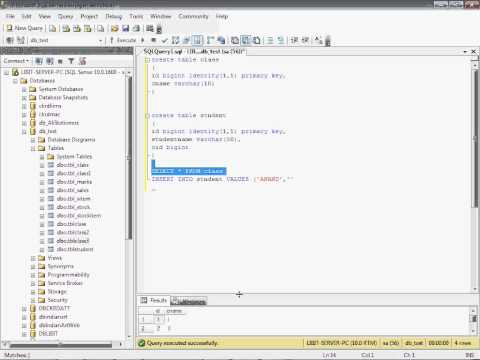 Part 15 Foreign Key in sql Server in Hindi