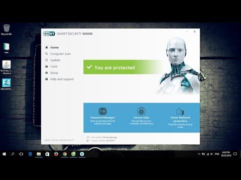 Hướng dẫn cài đặt và kích hoạt key bản quyền ESET 2017 All Versions mới nhất