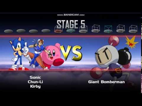 Super smash bros crusade v0.9.1 classic mode Sonic (part 1)