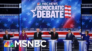 Democrats Hit Each Other Hard At Fiery Las Vegas Debate | The 11th Hour | MSNBC