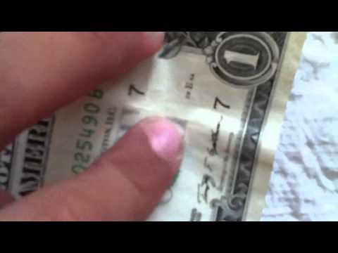 How to tell if your paper currency  is real