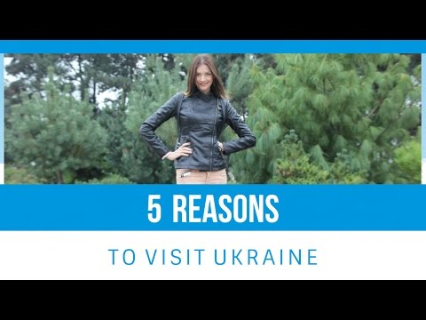 5 REASONS To Visit UKRAINE Right NOW