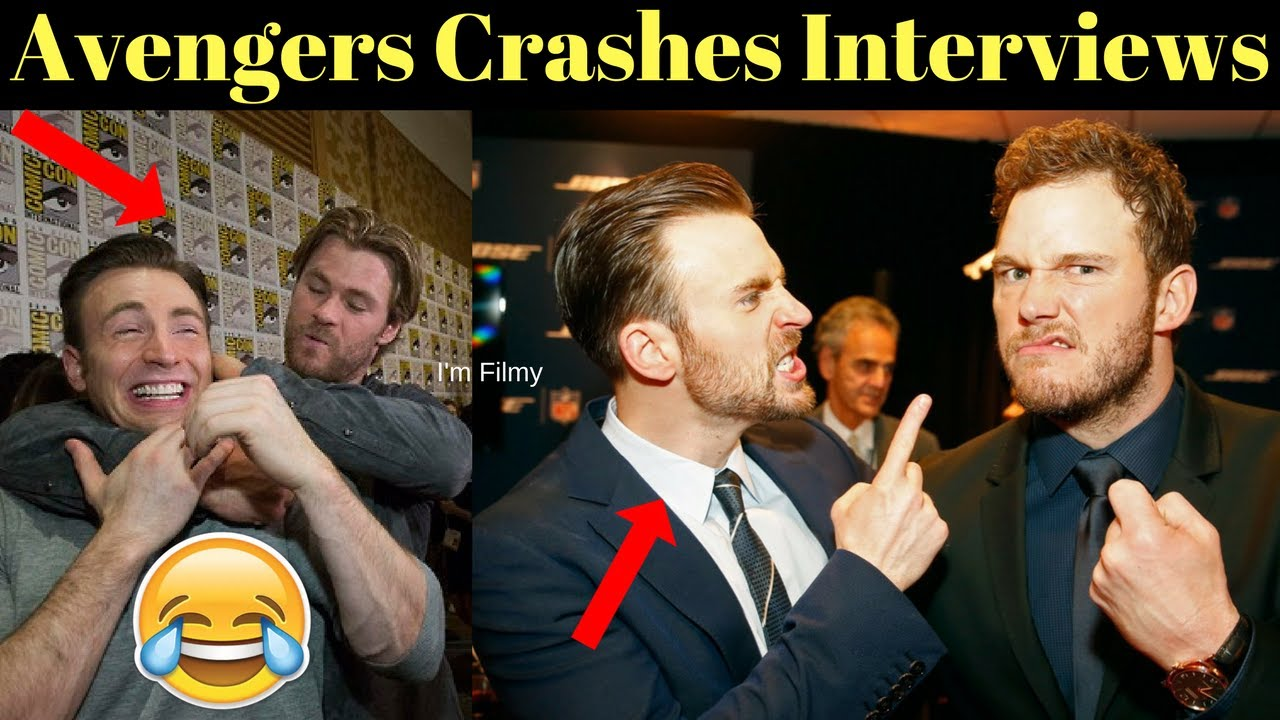 Avengers 4: Endgame Cast Crashes Interview - Unseen Funny Moments