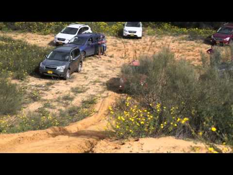 SUBARU Outback, Forester and XV Sandy Hill Climb Challenge