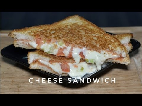 Cucumber Tomato Cheese Sandwich | Tawa Sandwich | Cheese Sandwich Recipe In Hindi -  Reena Ki Ra