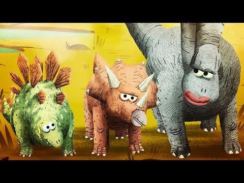 StoryBots Dinosaur Songs | Apatosaurus, Triceratops, Tyrannosaurus Rex, Velociraptor and Stegosaurus