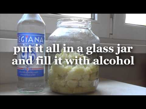 How to make alcohol garlic extract