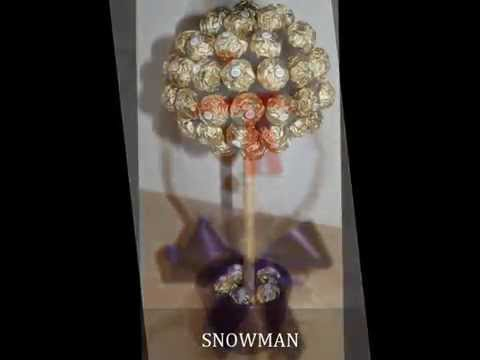 Candy Trees by www.chocolatefountains.co.uk