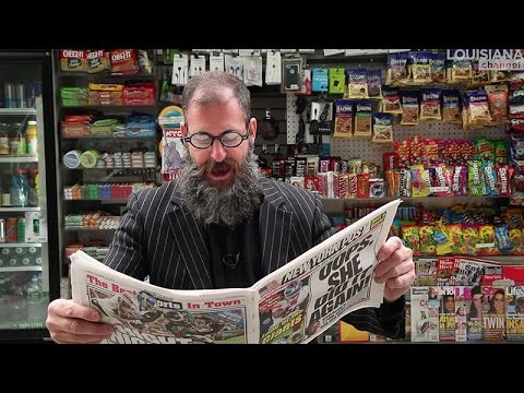 Kenneth Goldsmith Interview: Poetry in a Newspaper