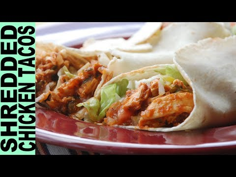 Gluten Free Recipes How To Make Shredded Chicken Tacos Mexican Cooking Gluten Free Habit