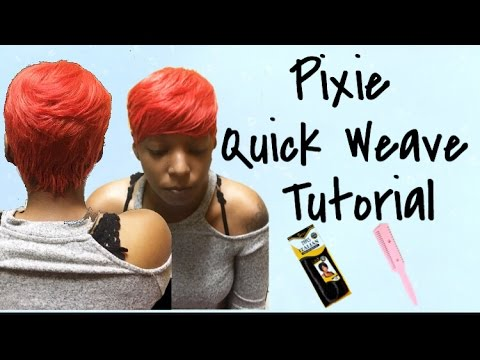 How to do a short quick weave