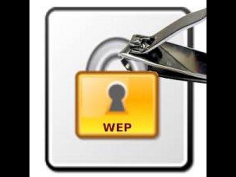wireless penetration testing Part 3 (Cacking WEP) Using minidwep