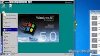 Windows Nt 5.0 Workstation Beta 1 Build 1729 In Microsoft Virtual Pc 2007