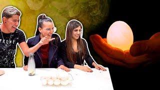 Laboratorio YouTuber   Experimentos con huevos