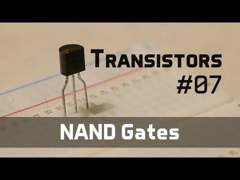 NAND Gates - Transistors 07