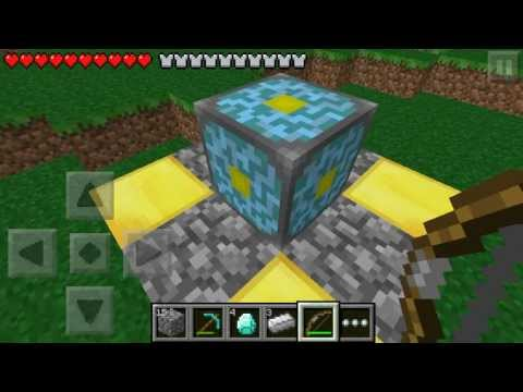 minecraft PE- How to activate the nether reactor core