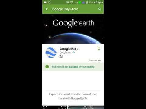 Download Google Earth app in India(in Hindi)