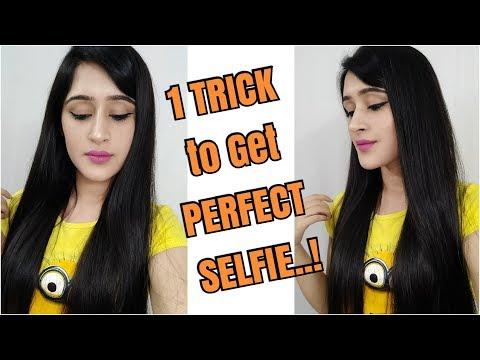 सेल्फी लेने का सही तरीका | USE THIS 1 TIP TO CLICK THE BEST SELFIE - GIRLS & GUYS -
