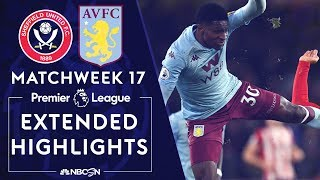 Sheffield United V Aston Villa PREMIER LEAGUE HIGHLIGHTS 121419 NBC Sports
