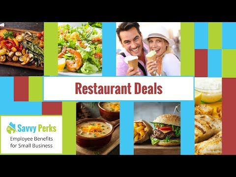 Savvy Perks Restaurant Deals, Discounts and Coupons