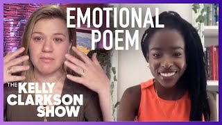 Kelly Tears Up During Poetry Reading From Youth Poet Laureate Amanda Gorman