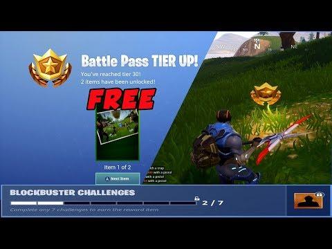 Fortnite Season 4 Week 2 Free Tier Blockbuster Challenge