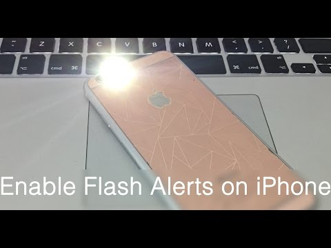 How to Enable LED Flash Alerts on iPhone 8 X 7 6S 6 SE 5S 5 5C 4S for Calls & Messages