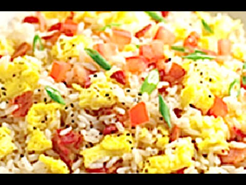 HOW TO MAKE BACON AND EGG FRIED RICE  - Greg's Kitchen
