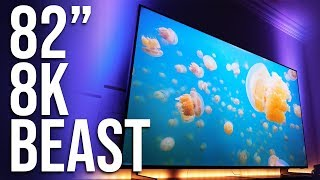 Samsung's Q900 82-inch QLED 8K TV is a beast! - Review