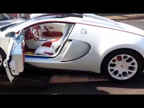 Customer receives her Bugatti Veyron replica                          reviews 360p