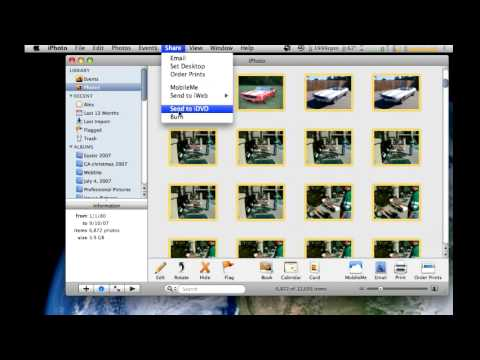 iPhoto Backup to DVD
