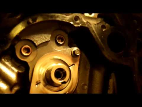 Ford Ranger 3.0 timing chain gear set replacement Part IV.wmv