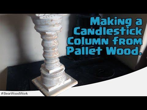 Pallet Wood Column