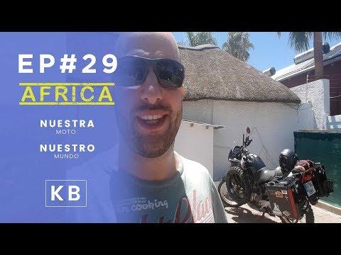 A la carrera por Namibia hasta Windhoek - Ep#29 - Vuelta al Mundo en Moto