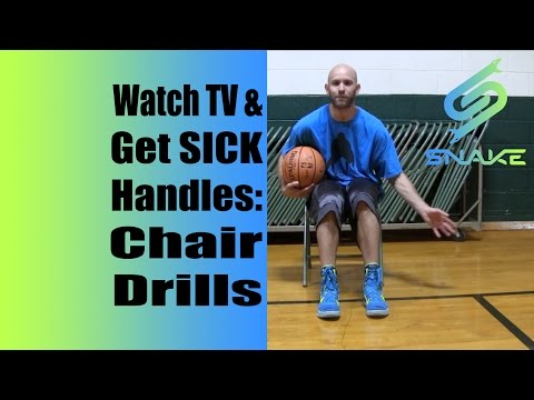 Get SICK Handles Watching TV? Basketball Chair Drills to Do By Yourself