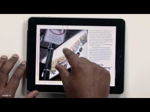 InDesign CS 5.5 Digital Publishing Suite to iPad, Android and Blackberry